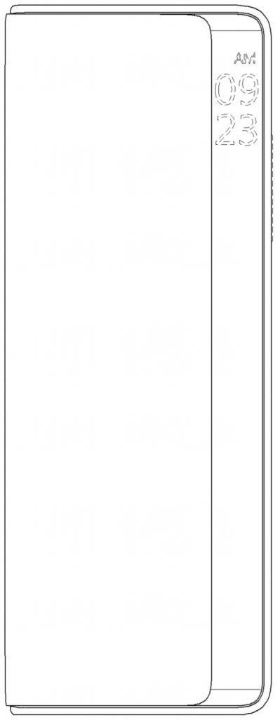 Компания LG запатентовала новый раскладной смартфон