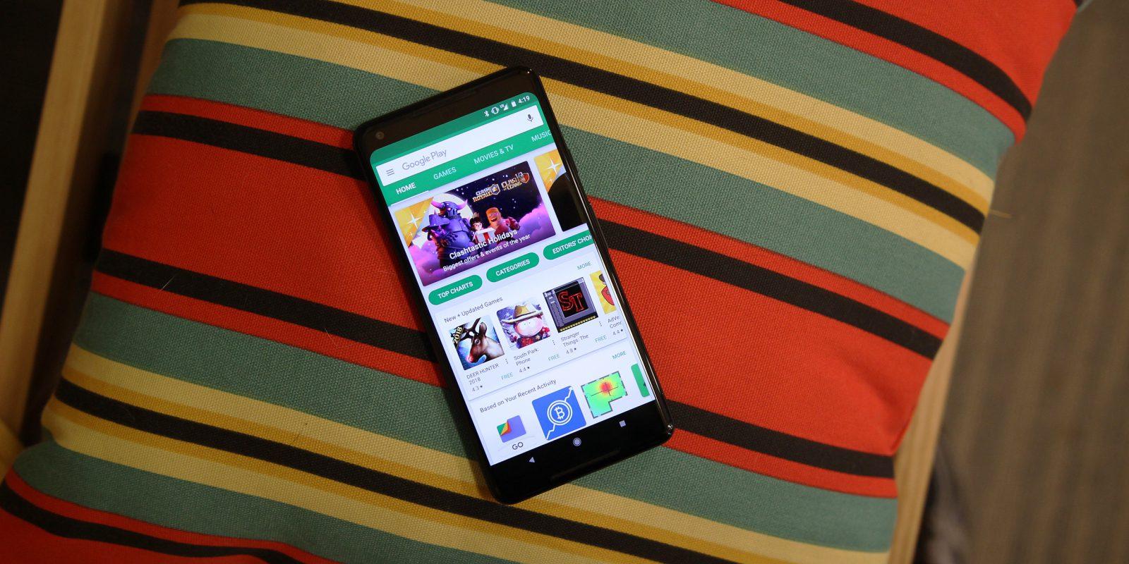 Новый рекорд загрузок приложений зафиксировали в Google Play