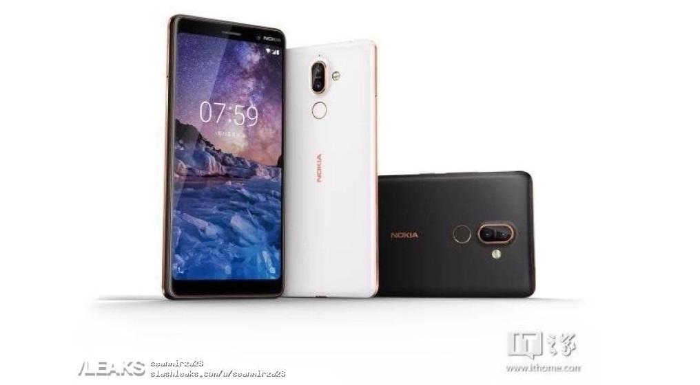 Смартфон Nokia 7+ рассекретили на официальных изображениях