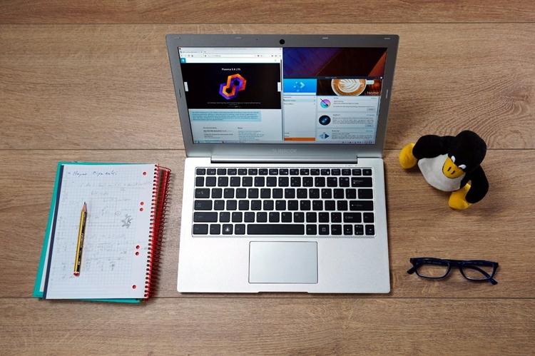 KDE SlimbookII: Linux-ноутбук с13,3-дюймовым экраном