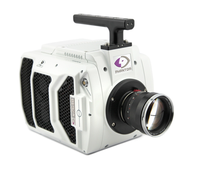 Vision Research представила видеокамеру Phantom v2640 со съемкой 25030 кадр/с