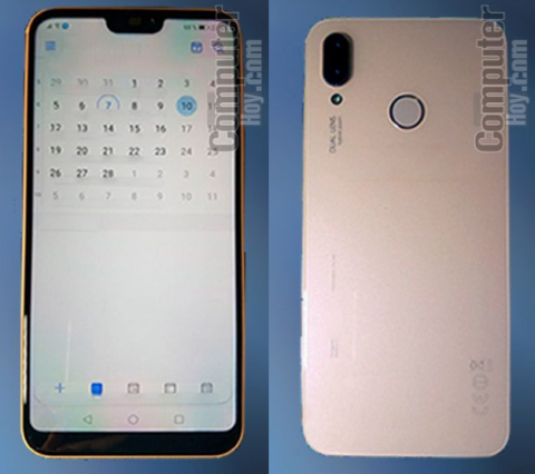 Смартфон Huawei P20 Lite показали на «живых» фотографиях
