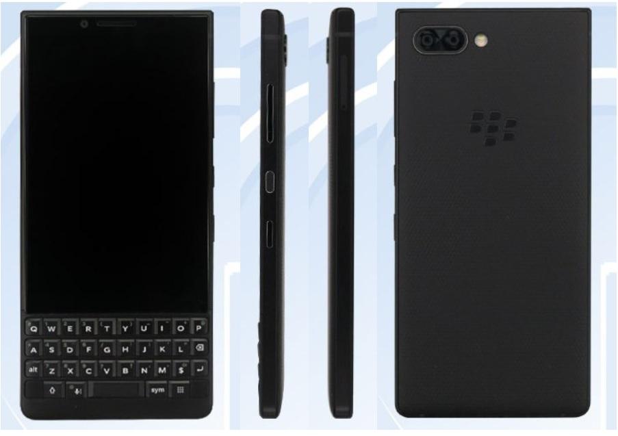 Новый BlackBerry сQWERTY-клавиатурой появился вбазе данных TENAA