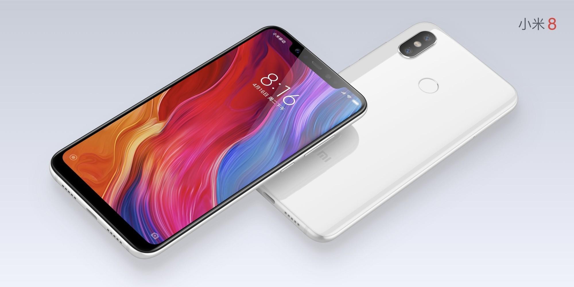 Xiaomi представила новый флагманский смартфон Mi8