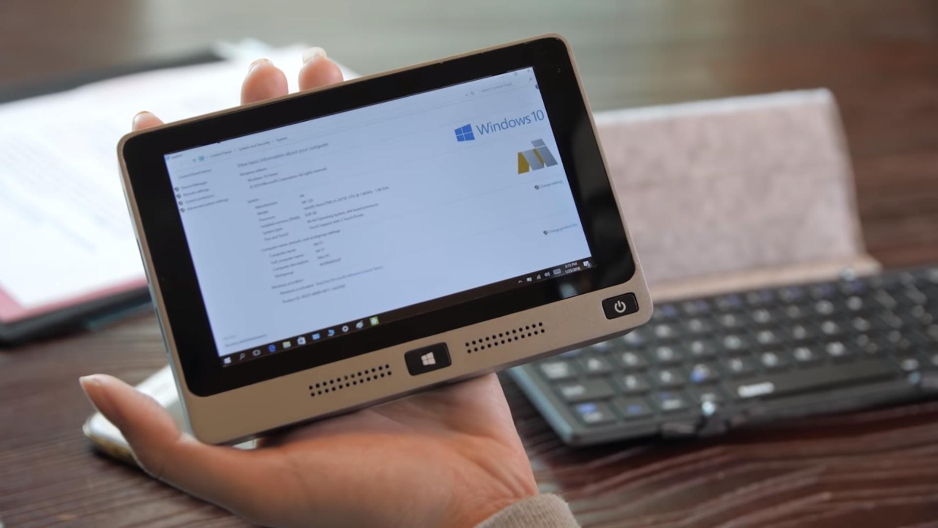 Китайцы создали самый мощнейший вмире карманный компьютер Мини PC