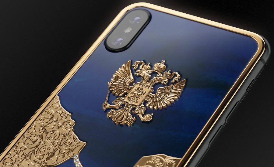 Caviar создала бриллиантовый Крымский мост на iPhone X