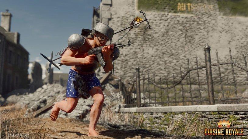 «Шутка стала реальностью»: Игроки сразятся втрусах вигре Cuisine Royale