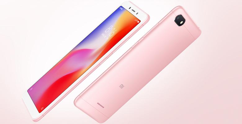 Xiaomi представила бюджетные смартфоны Redmi 6 и Redmi 6a