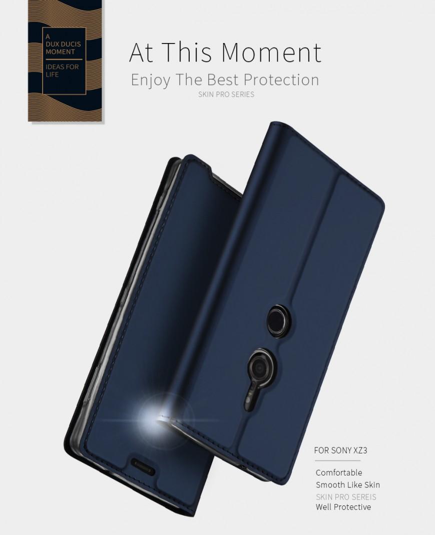 Производитель чехлов TVCMall продемонстрировал нарендерах Сони Xperia XZ3 содинарной камерой