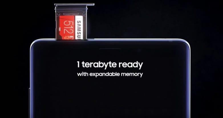 Samsung сделала карту памяти для смартфонов рекордного объема