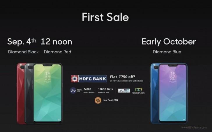 Oppo представила 6,2-дюймовый молодежный смартфон Realme 2