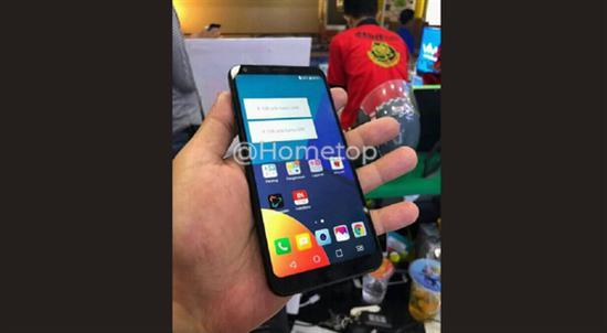 Защищенный смартфон LG Q9 показали на первом «живом» фото