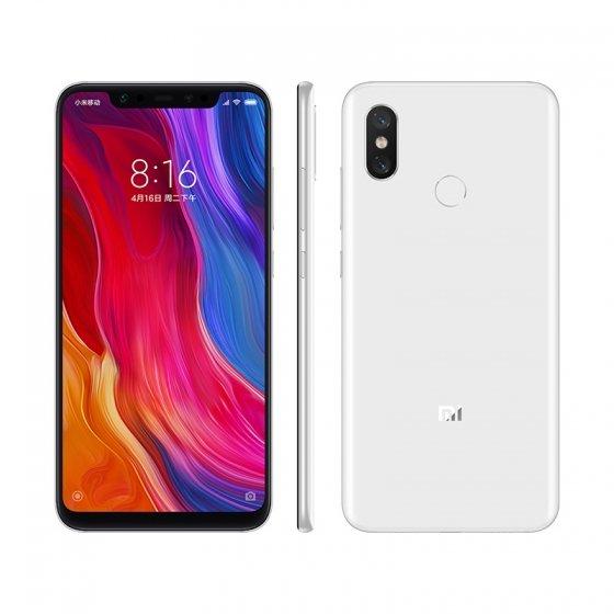 Смартфон Xiaomi Mi 8 поступил в продажу в белом цвете