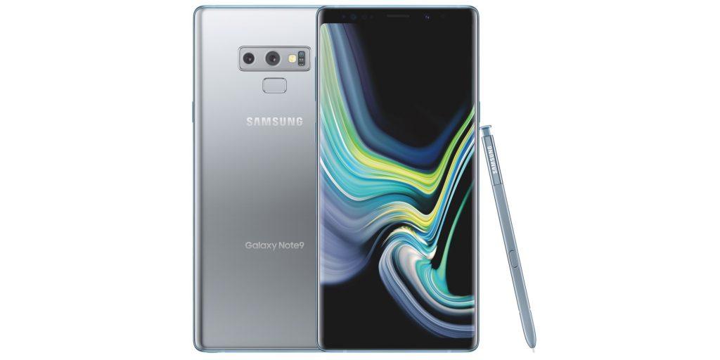 Samsung представила Galaxy Note9 в новом цвете «облачное серебро»