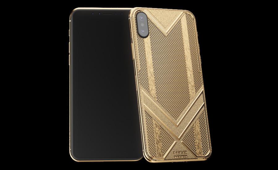 В России появился «максимально золотой» iPhone XS Max
