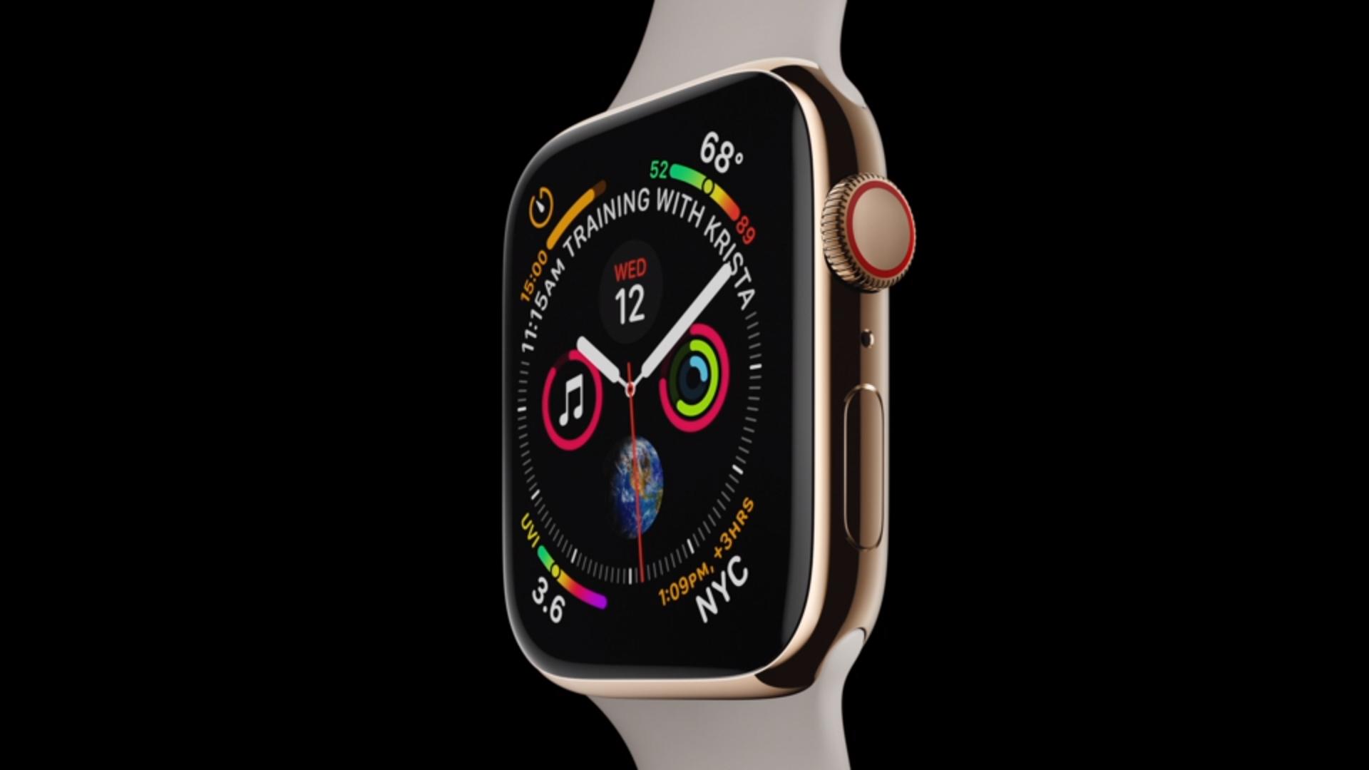 """Apple представила новое поколение """"умных"""" часов Apple Watch"""