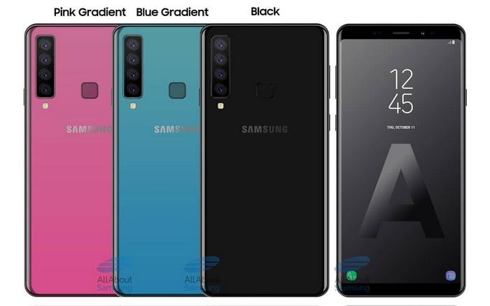 Samsung Galaxy A9s выйдет на рынок в градиентном цвете