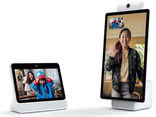 Социальная сеть Facebook выпустила разумный дисплей для видеочатов