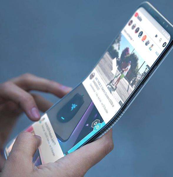 Компания Samsung сообщила о создании уникальных гибких дисплеев