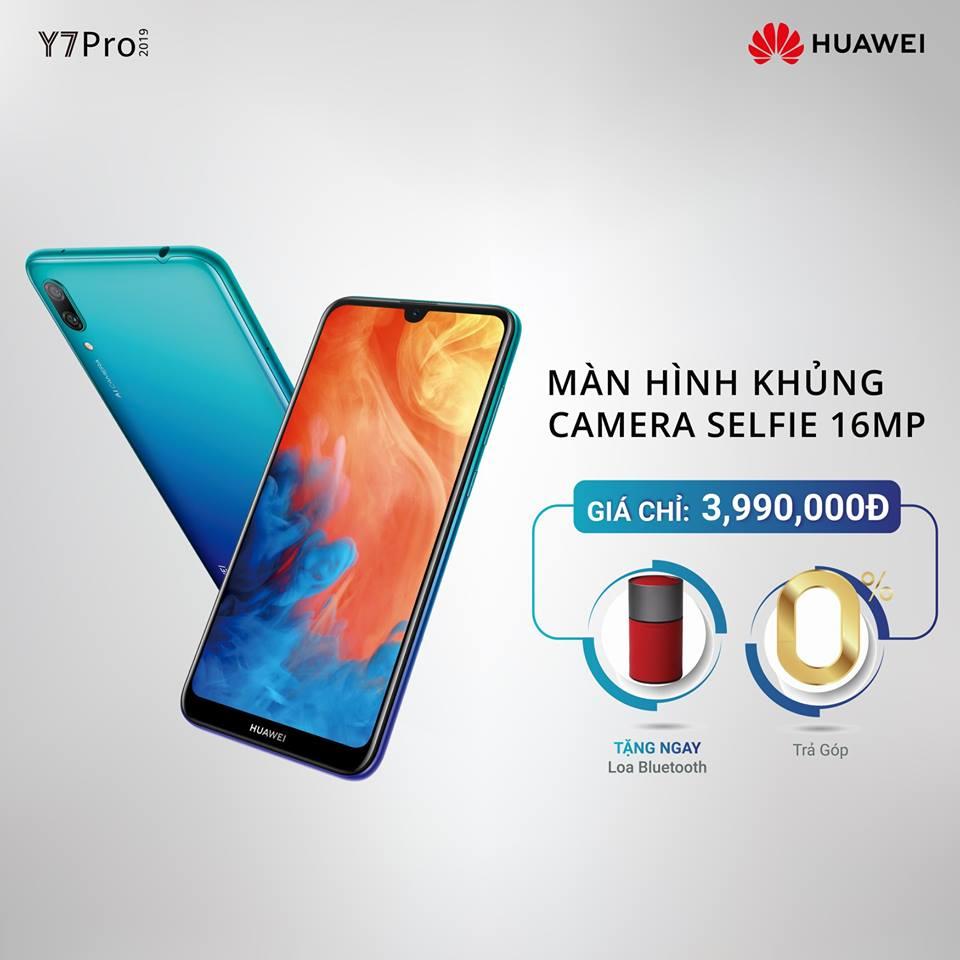 Huawei Y7 Pro 2019 — доступный смартфон с 6,26″ экраном на Snapdragon 450