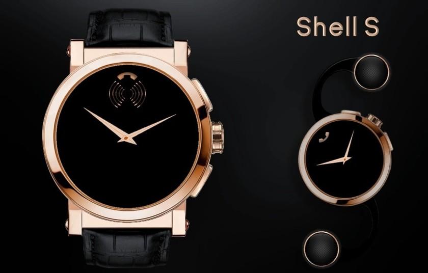 Shell— умные часы исмартфон водном корпусе