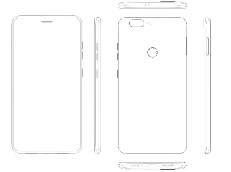 Мобильные телефоны бренда ZTE должны наделить дисплеем сотверстием для динамика