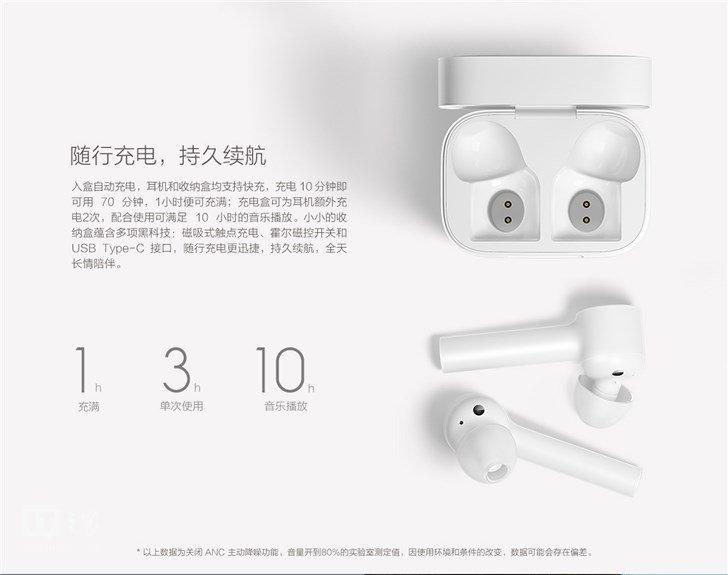Наушники Xiaomi AirPods внешне напоминают похожую гарнитуру Apple