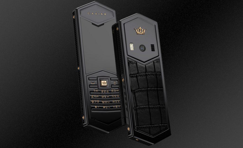 В продажу поступили новые люксовые телефоны Tsar от бренда Caviar