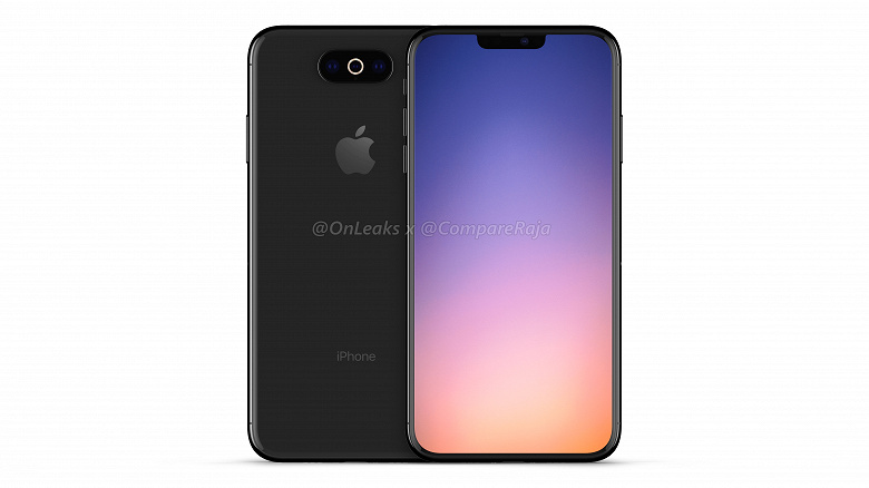 В Сети распространили новые рендеры смартфона iPhone XI