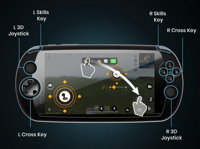 Представлен смартфон MOQI в стиле игровой консоли