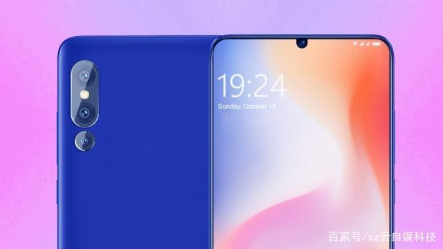 Безрамочный флагман Xiaomi Mi 9 представлен на новых рендерах