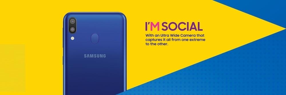 Названы цены и дата выхода бюджетных Samsung Galaxy M20 и M10