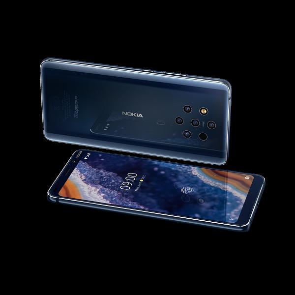 Компания Nokia представила флагманский смартфон с пятью камерами