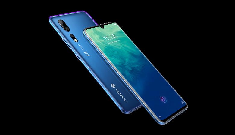 ZTE представила смартфон ZTE Axon 10 Pro 5G с тройной камерой