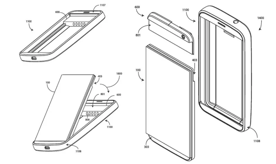 Google запатентовала смартфоны, которые нужно собирать самому