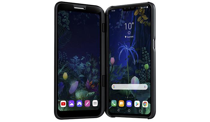 MWC 2019: LG представила свой необычный смартфон LG V50 ThinQ 5G
