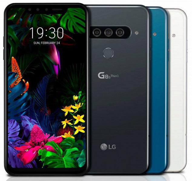 MWC 2019: LG представила смартфоны G8 ThinQ и G8s ThinQ