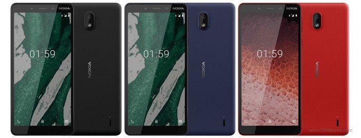 Nokia показала свой самый доступный смартфон Nokia 1 Plus