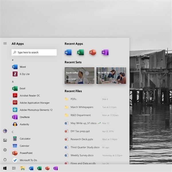Microsoft полностью изменил меню «Пуск» в Windows 10