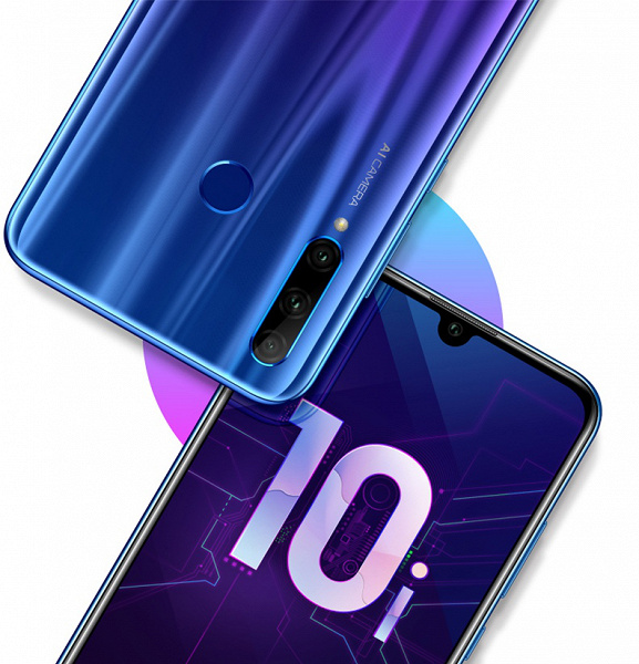 Смартфон Honor 10i в России оценили в 19 990 рублей