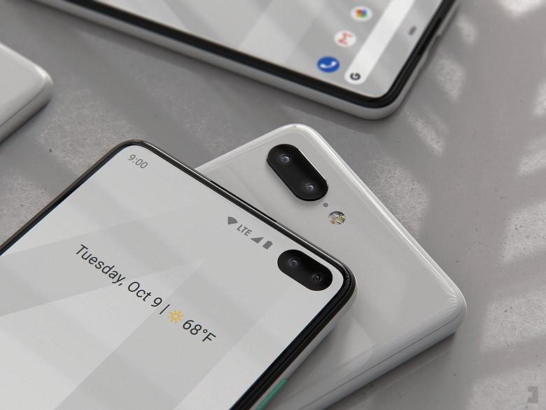 Google Pixel 4 и Pixel 4XL показали на новых изображениях