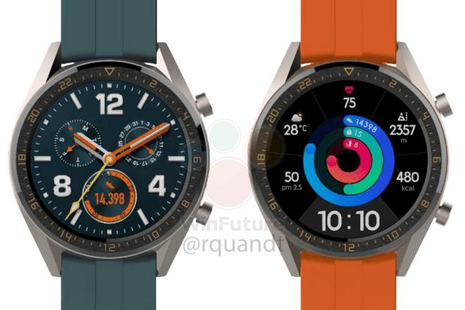 Huawei в Париже представит умные часы Watch GT Active и Elegant