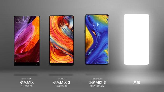 Xiaomi намекает на презентацию смартфона Mi Mix 4