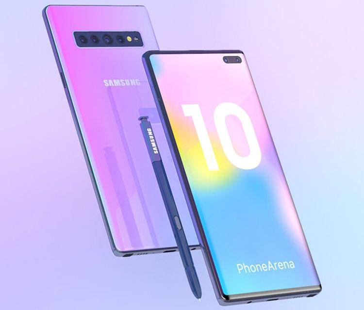 Основная камера в Samsung Galaxy Note 10 будет лучше чем в Galaxy S10