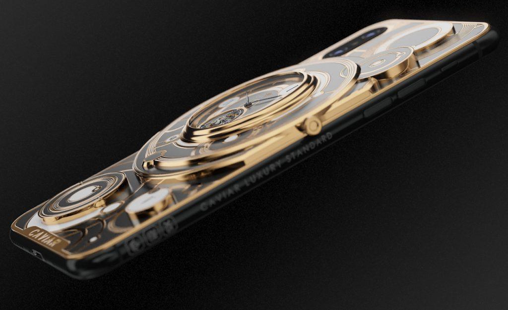 В Caviar создали первый в мире iPhone с турбийоном