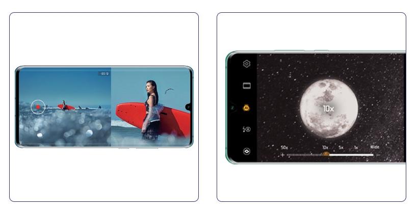 Мобильные телефоны Huawei P30 иP30 Pro ссуперкамерой показались наофициальных изображениях