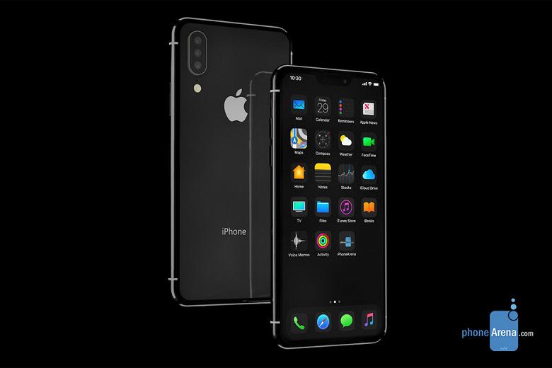 IPhone 11 c iOS 13 и тёмной темой представили на рендерах в Сети