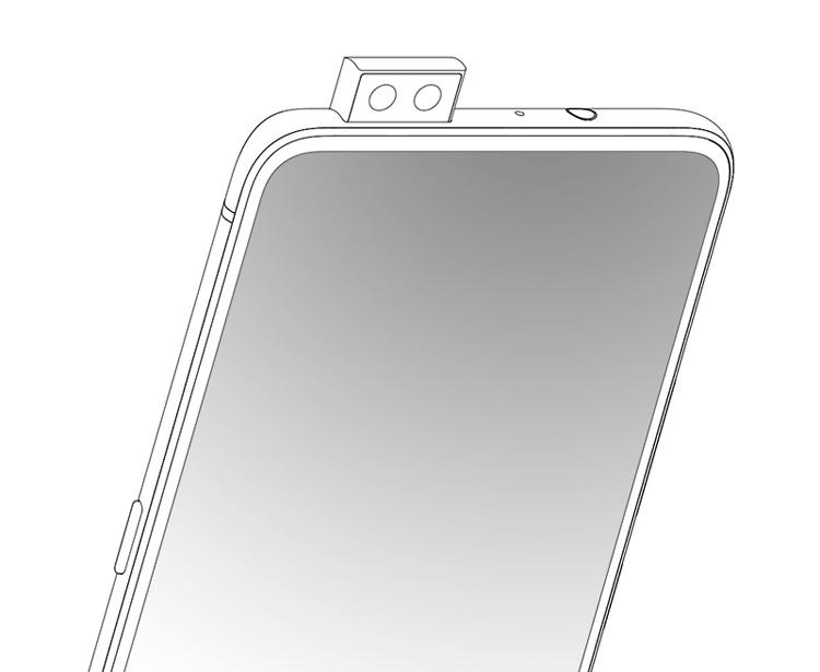 Vivo запатентовала смартфон с двойной камерой-перископом