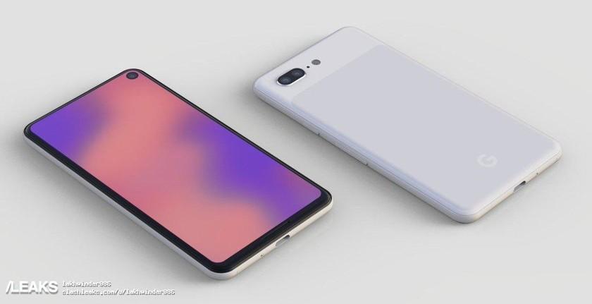 Дизайн смартфона Google Pixel 4 показали на первом рендере