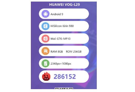 Смартфон Huawei P30 Pro протестировали на AnTuTu